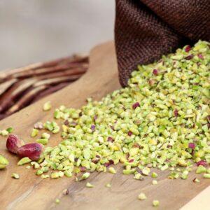granella di pistacchio affrunti mandorle